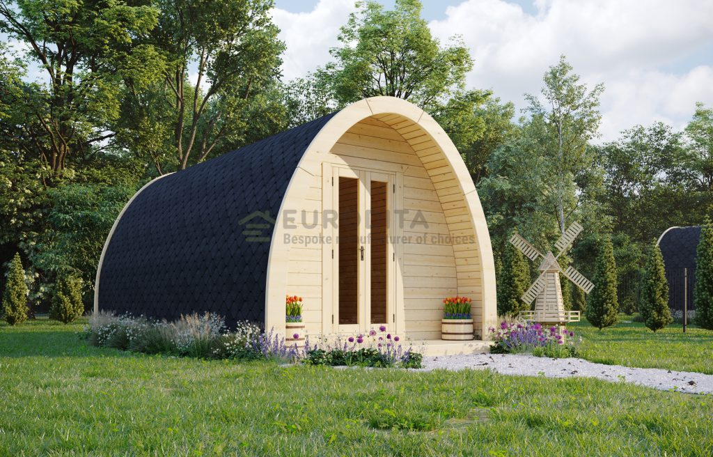Insulated Camping Pod 3.25×5.9m – Glen 2
