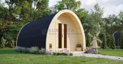 Cabaña aislada de 3,25×5,9 m - Glen 2