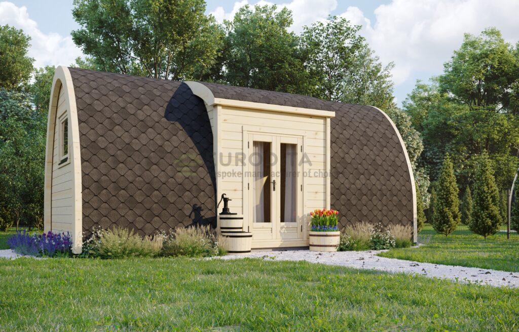 Eristetty leirintäalue 2.4×6.6m avoin suunnitelma-Venture 1