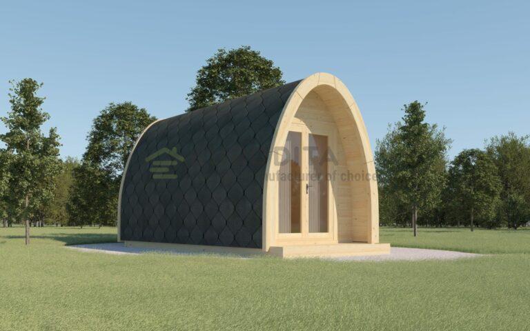 Insulated Camping Pod 2.4×3.5m - Velvet 4