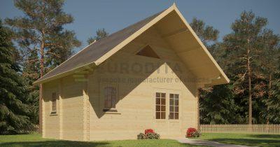 Log Cabin Euro 45/18