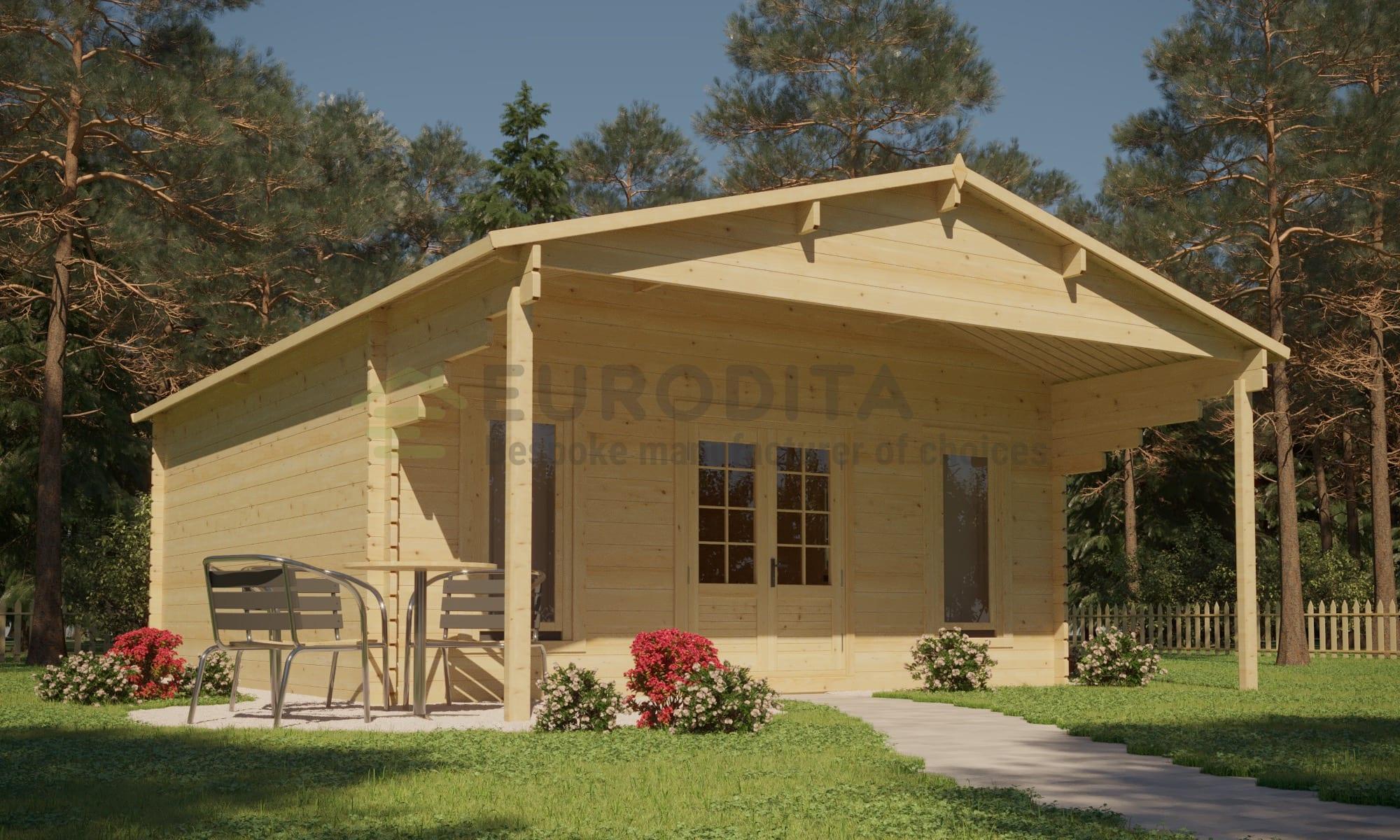 Log Cabin Euro 45/6