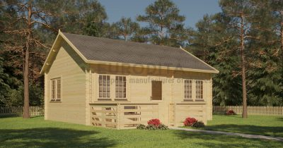 Log Cabin Euro 45/22