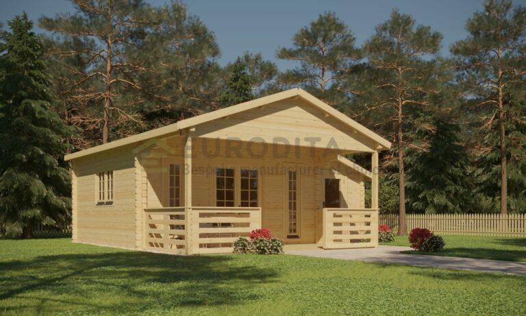 Log Cabin Euro 45/27 - Craig
