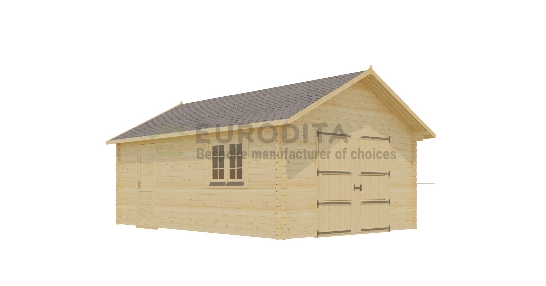Log Garage [4x6m]