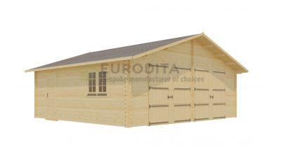 Garage Double Log Quentin