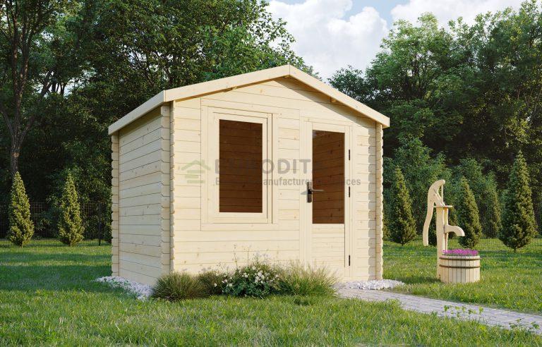 Log Shed 2.5x2.0m