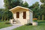 Log shed 2.5×2.8m