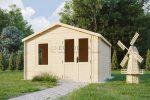 Log shed 3.3×2.98m