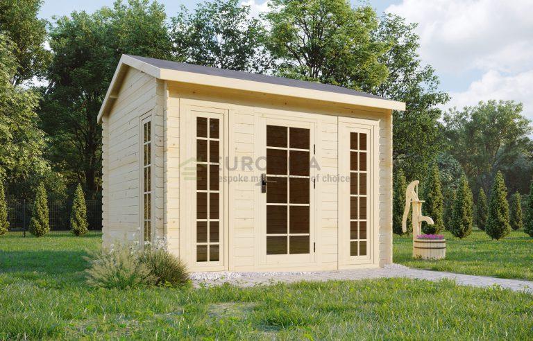 Log shed 3.0x2.5m