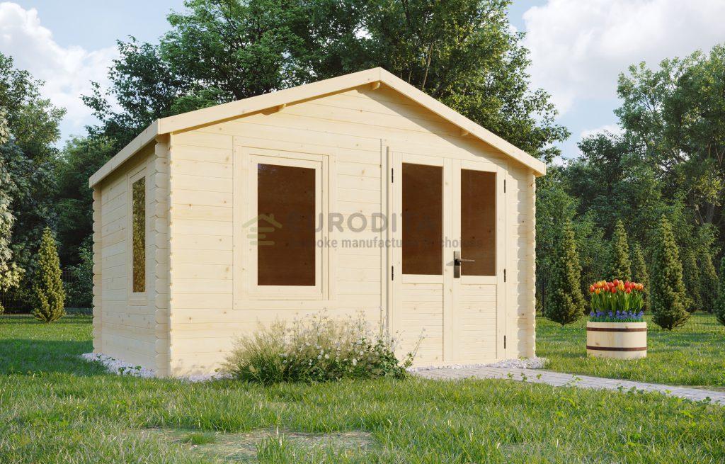 Log shed 3.3×2.68m