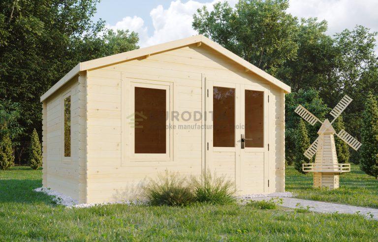 Log shed 3.3x2.98m