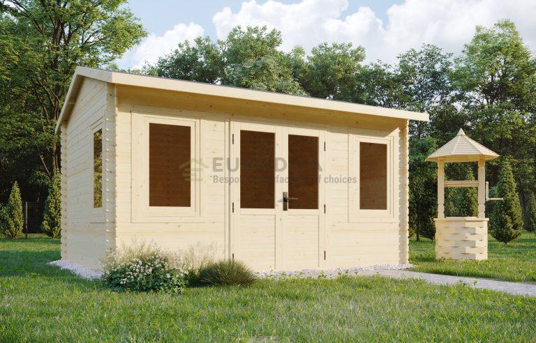 Log shed 4.0x3.0m