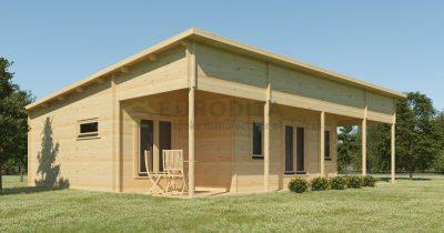 Bespoke 2 Bedroom Log Cabin