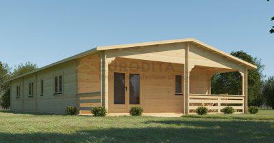 Bespoke Log Cabin 4Bedroom