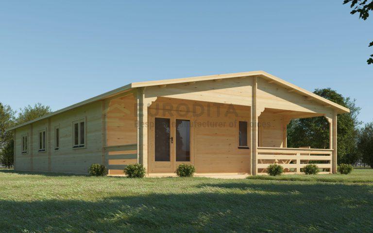 Cabaña de madera a medida Copse