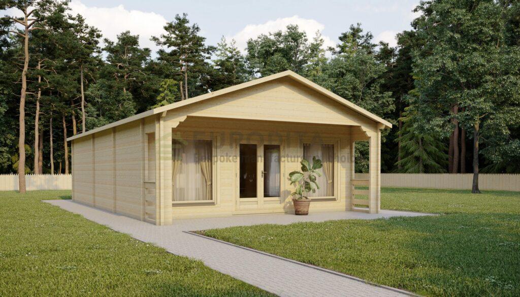 Cabaña de madera a medida Eamon