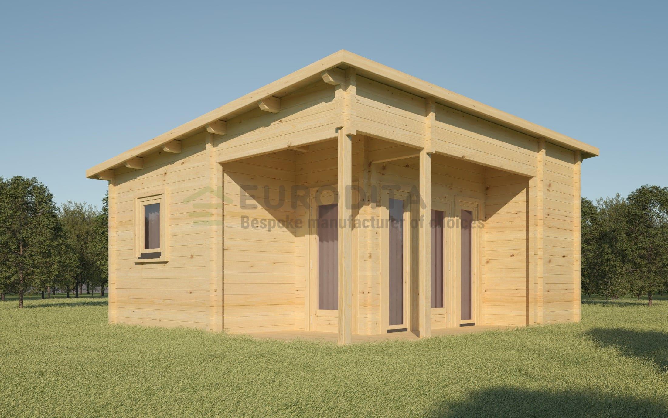 Bespoke Log Cabin 0213