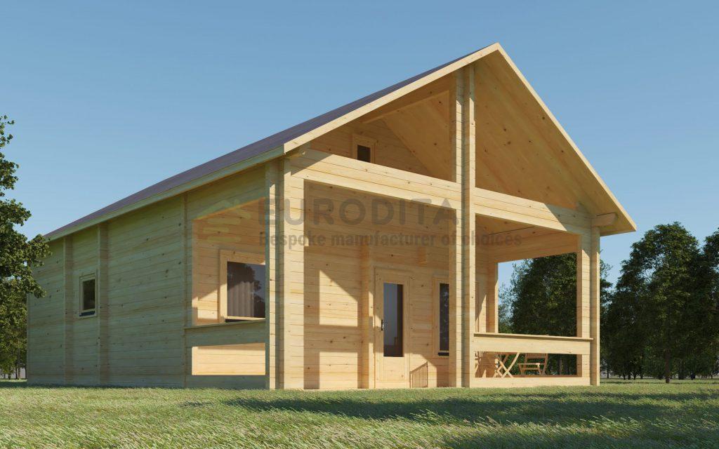 Bespoke Log Cabin Boceto