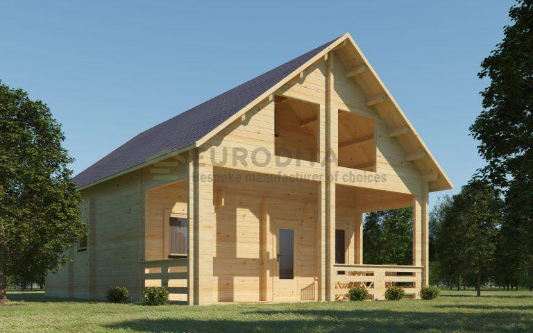 Bespoke Log Cabin Casa De Madera
