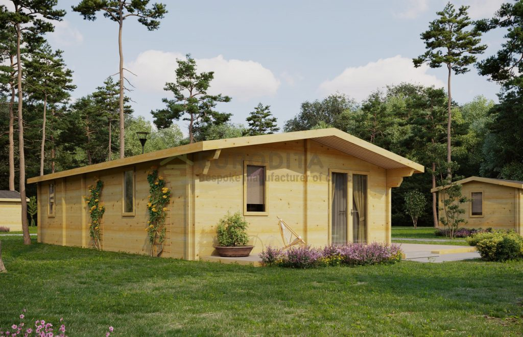 Mobilus namas Great Ouse 1 miegamasis