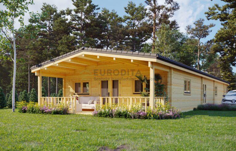 Casa móvil Baker 3 dormitorios