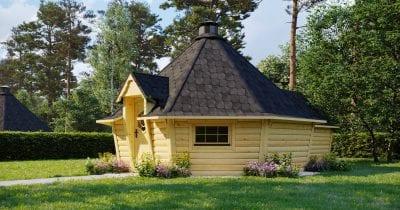 Capanna BBQ 16.5m2 con estensione Sauna - Patron 1
