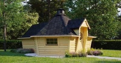 Capanna BBQ 9.2m2 + estensione sauna - Patron 2