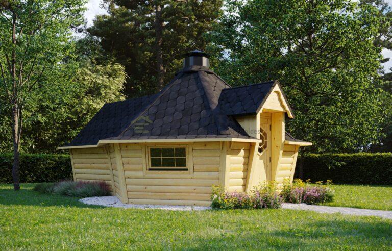 BBQ Hut 9.2m2 + Sauna extension - Patron 2
