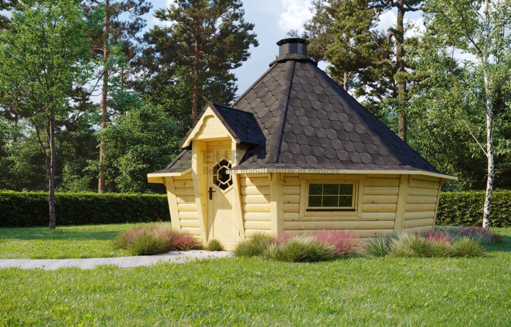 Sauna BBQ Hut Bliss – 16.5m2