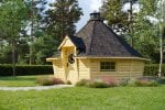 Modern BBQ Hut Sauna Cabin 16,5 m