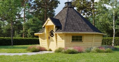 Sauna BBQ Hut Bliss - 16.5m2