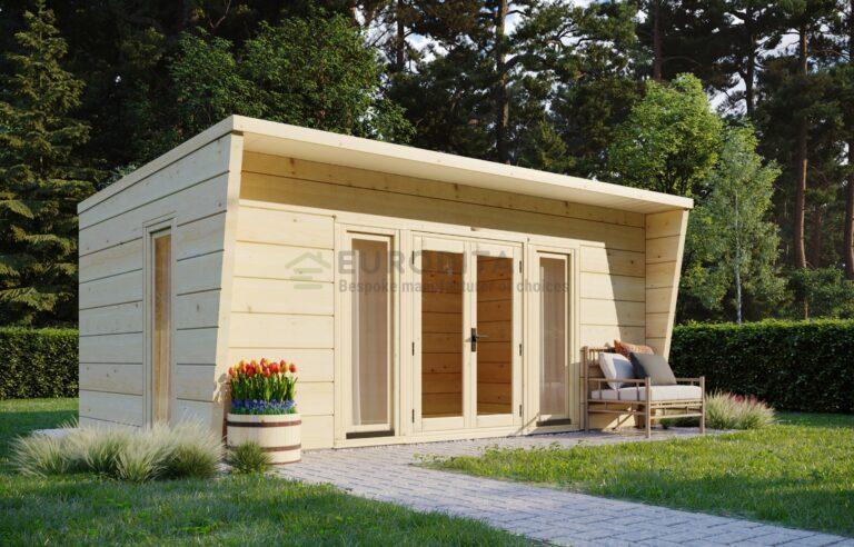 Modern Garden Room Respite