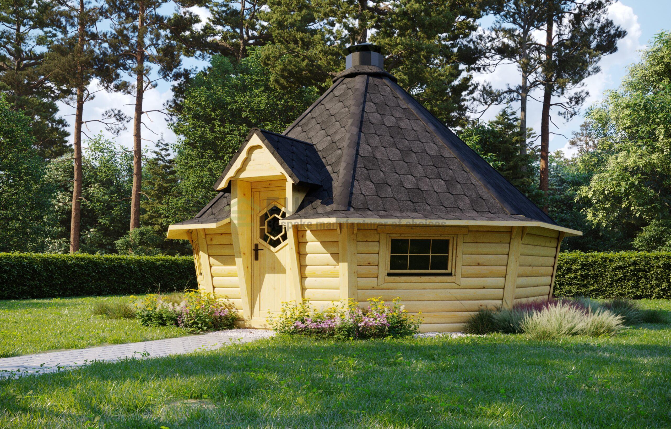 Modern Style BBQ Hut 16.5m2