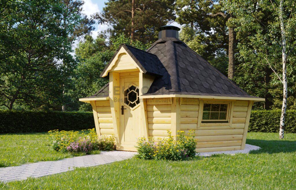 BBQ Hut Modern 2 – 9.2m2