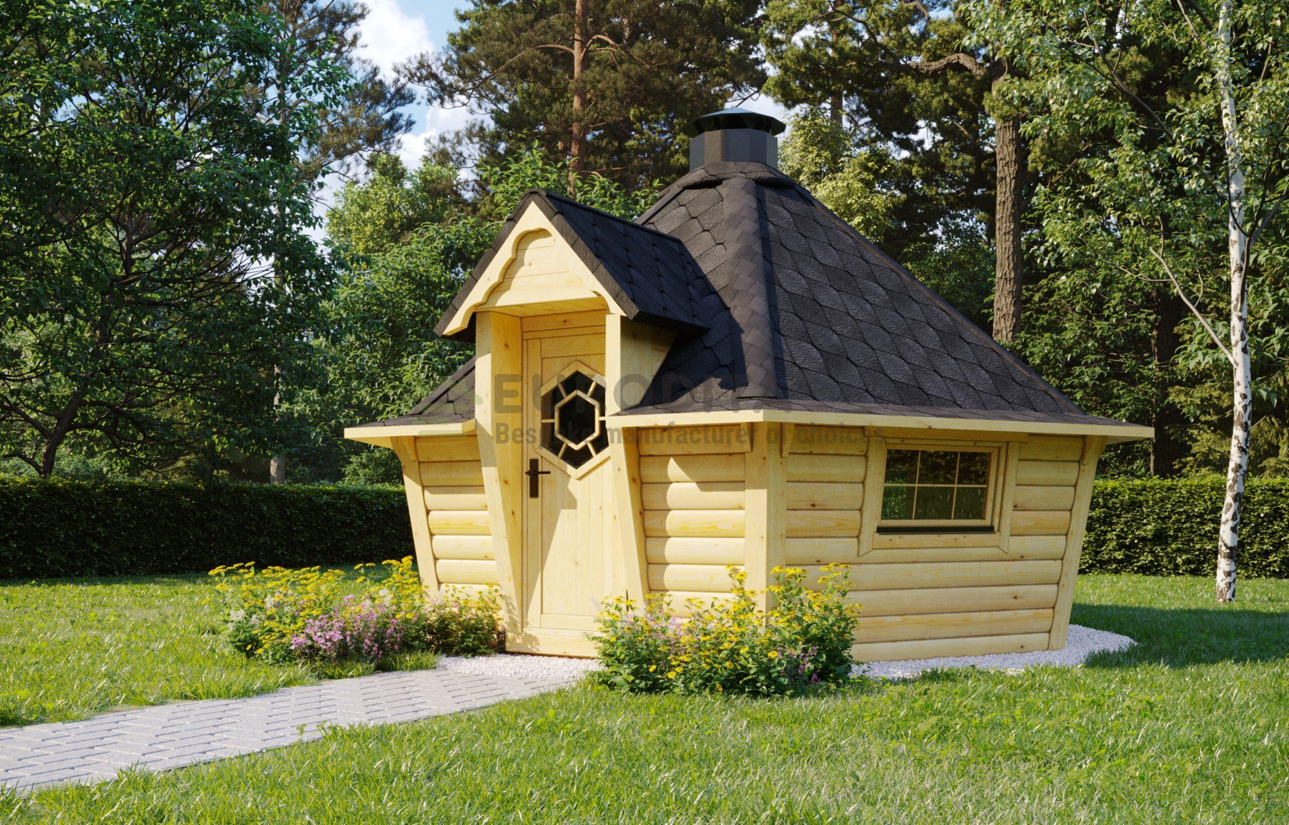 Modern Style BBQ Hut 9.2m2