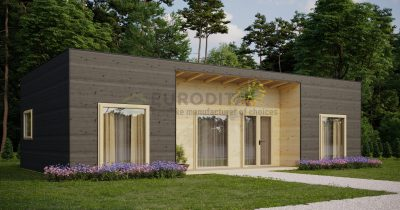 Modular Log Home Ullswater [63m2]