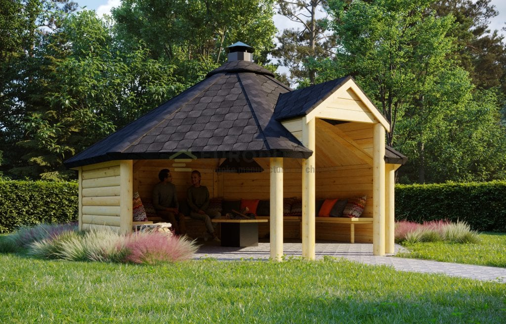 Open BBQ Hut Air 2 – 16.5m2