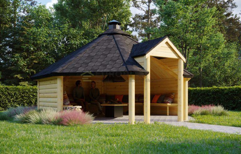 Open BBQ Hut Air 2 - 16.5m2
