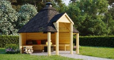 Aperto BBQ Hut Air - 9.2m2