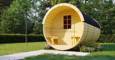 Timber Sauna Barrel 6.0m
