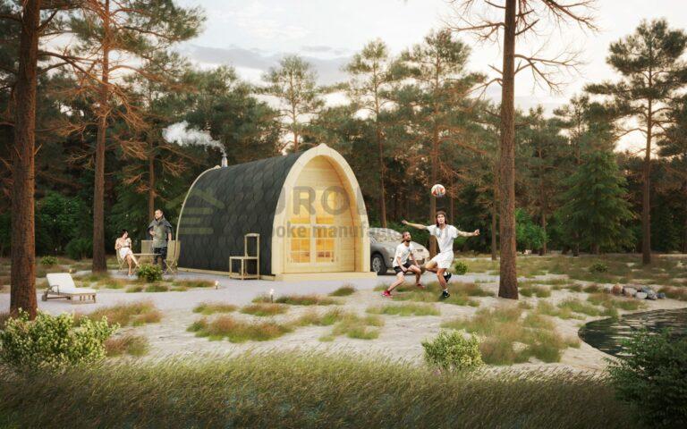 Sauna Pod 2.4×3.5m - Armonia 3