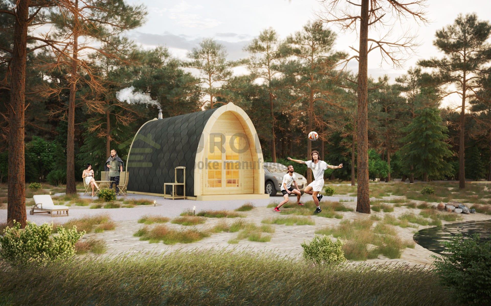 Sauna Pod [2.4×4.8m]