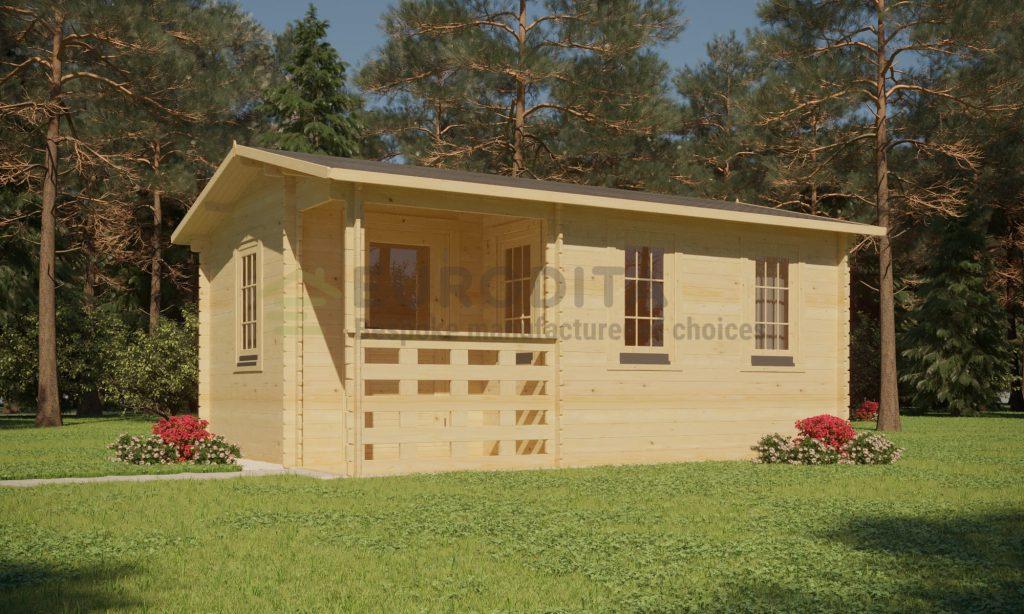 Standard Garden Office 4.2x3m – June