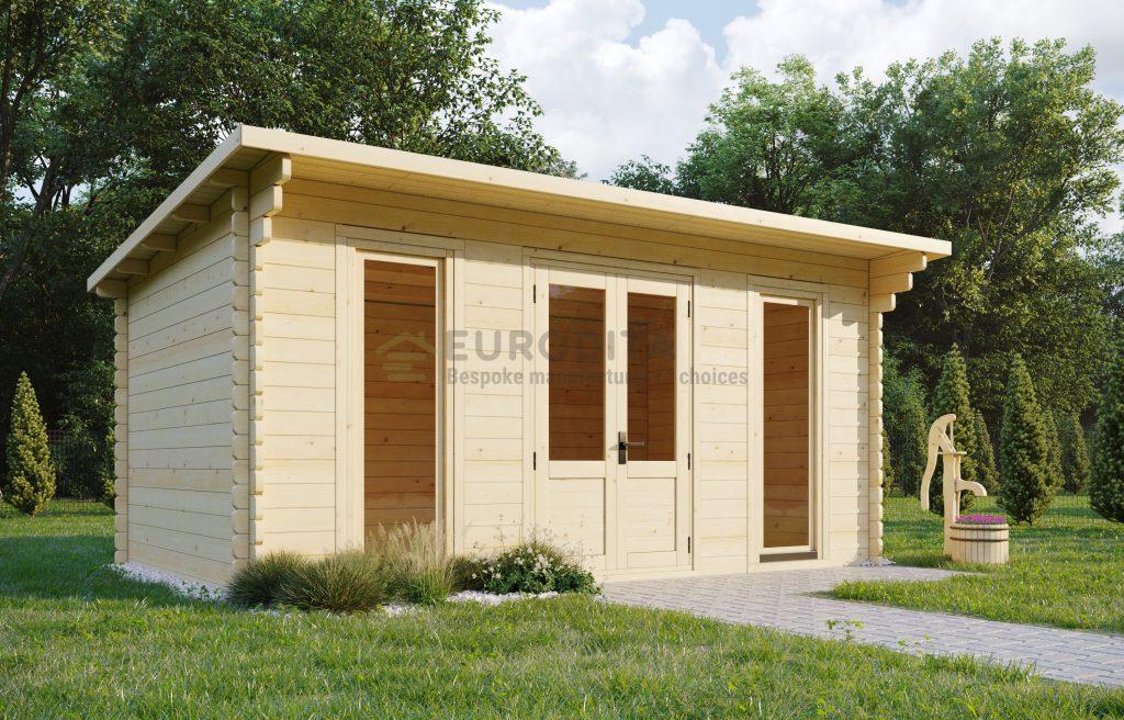 Log Cabin Dorchester 5x3m, 44mm