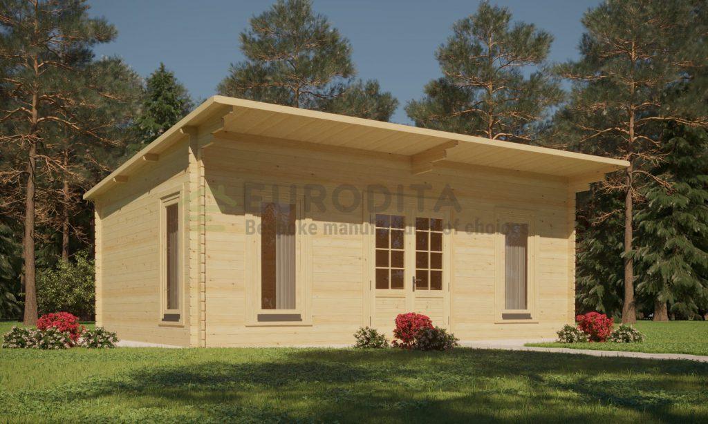Log Cabin Kelly 3.6×5.4m, 34mm