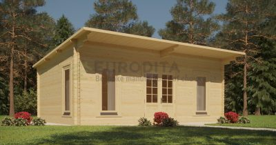 Standard Log Cabin 3.6×5.4m – Kelly