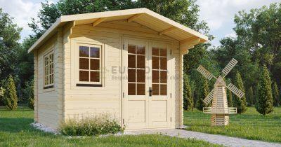 Rąstinis namelis Ringwood 3x3 m, 28 mm