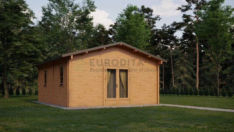 Standard Log Cabin Sandra