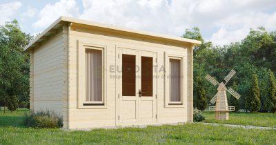 """Rąstinis namelis """"Glastonbury"""" 4,2×3,2 m, 34 mm"""
